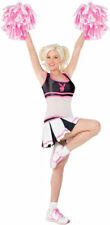 Morris Costumes Women's New Sexy Playboy Cheerleader Lycra Costume M. FW102404MD