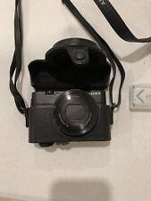 Sony DSC-RX100 Cyber-shot 20.2MP Black Digital Camera