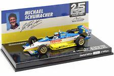 Minichamps 1/43 Schumacher Reynard F893 Winner Qualifying 25th anniversary