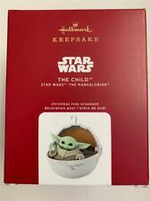 NEW Hallmark KEEPSAKE 2020 Star Wars Mandalorian THE CHILD Christmas ORNAMENT