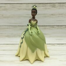 Walt Disney Princess Tiana Ball Gown Plastic Figurine Caketopper 7.75""
