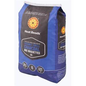 HEAT BEAD - Coconut Shell Charcoal Briquettes 4kg - FREE POST!