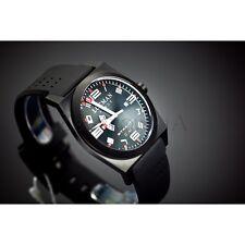 Orologio Locman Stealth GMT Uomo acciaio Silicone Classic Watch Uhr Montre Reloj