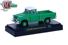 M2 MACHINES 1/64 AUTO-TRUCKS 1958 GMC SUBURBAN CARRIER 4X4 32500-36 DIECAST CAR