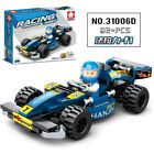 Lego assembled building blocks Ferrari racing model brain toy