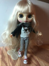 """12"""" Neo Blythe Doll Matte Skin Face from Factory Special Body Nude Doll JSW62004"""
