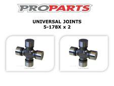 UNI JOINTS REAR SHAFT FOR NISSAN NAVARA D40 4WD 4.0 LTR V6 2006-2011 - 5-178X x2