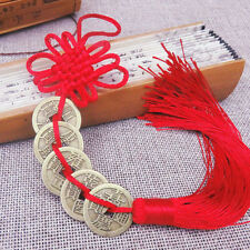 Feng Shui Chinese Knot Lucky Coins Cures Home Career Health Wealth Shan