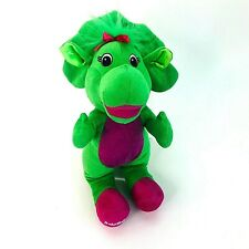 Barney and Friends Baby Bop Dinosaur Triceratops Plush Toy VGC 2014