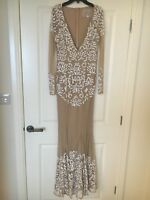 Misguided Beaded Evening Dress 8