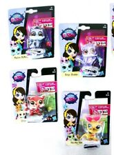 Lot 4 LITTLEST PET SHOP (BINGO, DASH, McKIE, STRIPES...). BRAND NEW IN BLISTER!
