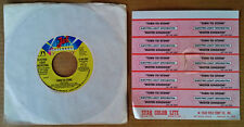 ELECTRIC LIGHT ORCHESTRA - TURN TO STONE - JET 45 +  (10) JUKEBOX STRIPS