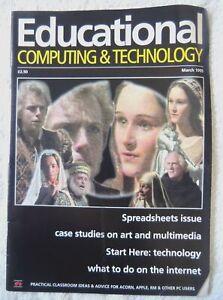 57501 Volume 16 Issue 03 Educational Computing & Technology Magazine 1995