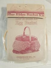 Vintage Blue Ridge Basket Kit Egg Basket Commonwealth Mfg N