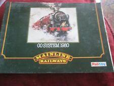 Palitoy  Mainline Model Railway 00 system catalogue  1980 + price list