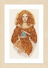 Mother Earth (Evenweave): Lanarte Counted Cross Stitch Kit-PN0156302