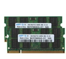 For Samsung 2GB RAM 2Rx8 PC2-6400 DDR2 800Mhz 200pin SO-DIMM Laptop Memory