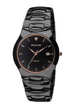 Accurist Men's Ceramic Strap Wristwatches