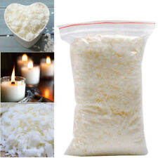 Wax Soy 1kg Soya Flakes 100 Pure clean Burning Candle Making 5kg No Soot UKDC