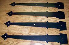 Garage Door Decorative Hinges-HERITAGE - Steel, set of 4 with mounting hardware