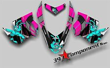SKI DOO REV XP SNOWMOBILE SLED GRAPHICS DECAL KIT KILLER BEE WASP ECONO Pink