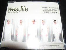 Westlife If I Let You Go Australian Enhanced CD Single - Like New