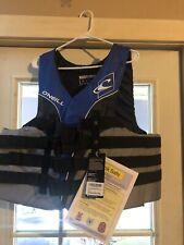 O'Neill Men's Superlite USCG Life Vest 4XL Pacific/Smoke/Black