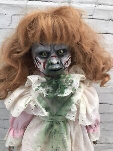 Ooak Creepy Horror Doll Exorcist Movie Spirit Possessed
