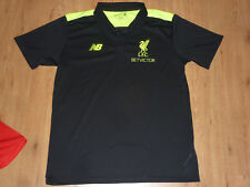 Original fc liverpool camiseta camisa polo talla XL new balance Premier League como nuevo