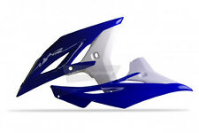 NEW RADIATOR SCOOPS YZ250F OEM COLOR 2011/2012 BLUE YAM98/WHITE 8413700006
