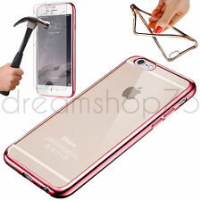COQUE ETUI HOUSSE SILICONE ETP IPHONE  5/5S 6/6S 7/7 plus+ FILM EN VERRE TREMPE