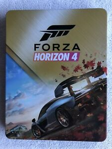 FORZA HORIZON 4 PS4 Steelbook Case (No Game) New