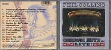 CD- PHIL COLLINS - SERIOUS HITS LIVE --- WEA MUSIC - 1990 - 1 CD - ZCD1
