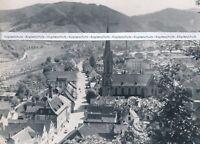 Hausach im Schwarzwald - Kinzigtal - Ortsansicht - um 1950 - Q 29-20