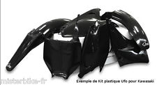 Kit plastiques UFO  Kawasaki KX250F 09-11 250 KXF 2009-2011 Couleur NOIR