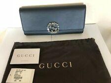 309949fd562 Gucci GG Broadway Swarovski Crystal Black Leather Clutch