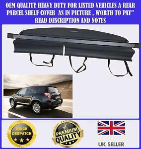 FOR TOYOTA RAV4 RAV 4 MK3 2006-2013 CARGO PARCEL SHELF LOAD COVER BLIND BLACK