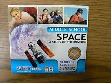 SPACE - A STUDY OF THE SPACE UNIVERSE & OUTER SPACE - PLANETS MOONS STARS - KIDS