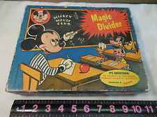 Vintage Jacmar B/O Walt Disney Mickey Mouse Club Magic Divider Educational Toy