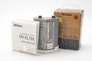 Genuine Nikon EN-EL18c / EN-EL18 Li-ion Battery Pack - D6 D5 D4S D4 D500 D850