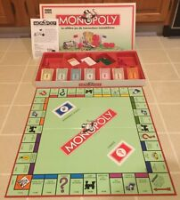 VTG PARKER Monopoly Board Game 1992 FRENCH Ed W/Instructions & Pieces RARE!!