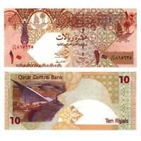 Pick 22 Katar / Qatar 10 Riyals 2003 Unc. / 4539572vvv
