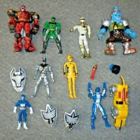POWER RANGERS - JOB LOT BUNDLE COLLECTION FIGURES ETC A4