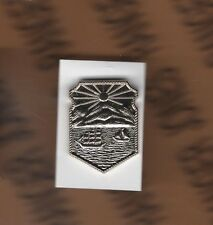 Unknown Island Ship crest 1 inch lapel pin badge