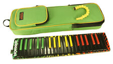 Melodica HOHNER AIRBOARD RASTA keys piano 32 or 37 notes New + cover