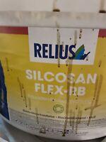 12,250 Liter Relius Silcosan Flex RB Farbton Siehe Offenen Eimer Restposten 1