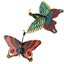 6 Papillons Crochets - Polystyrène Avions Présent / Sac de Fête Mariage/Enfants
