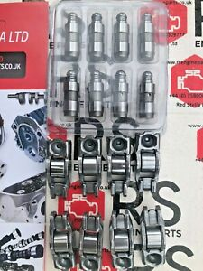 8 Rocker Arms 8 Hydraulic Lifters OPEL CITROËN DS FIAT FORD MAZDA 1.4 1.6 DIESEL
