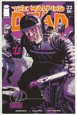 THE WALKING DEAD #32 Signed Autographed by CHARLIE ALRED - COA VF+