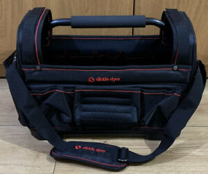 Dickie Dyer 17 Inch Tote Tough Bag With Steel Handle 693141 Toolbox Tool Storage